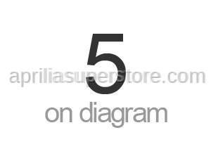 Aprilia - Rear fairing decal set