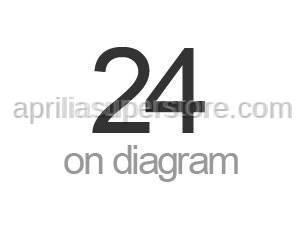 Aprilia - Screw w/ flange M10x75