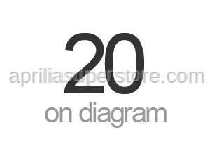 Aprilia - Saddle cover decal Aprilia