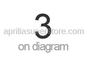 Aprilia - Screw w/ flange M6x25 titan