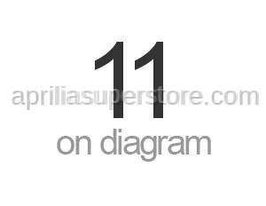 Aprilia - Nut M12x1x6