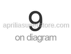 Aprilia - Screw w/ flange M5x12 titan