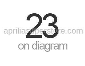Aprilia - Self-locking nut M6x1titan