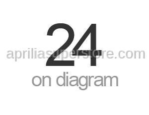 Aprilia - Rear wheel spindle M25 L=318,5