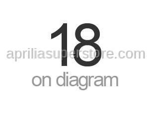Aprilia - RH turn indicator, black