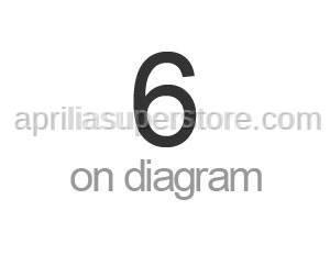 Aprilia - LH rear fairing dec. Criniera