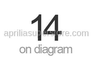 Aprilia - Flanged nut M8x1,25