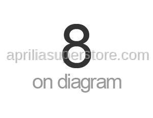 Aprilia - Hose clip D23,5x8*