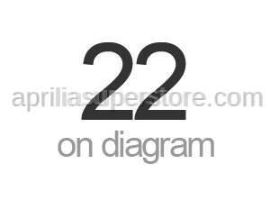 Aprilia - TSPEI inox screw M3x20