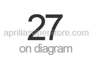 Aprilia - Screw w/ flange M7X1X42