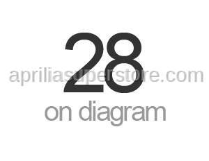 Aprilia - FLANGED HEXAGONAL HEAD SCREW
