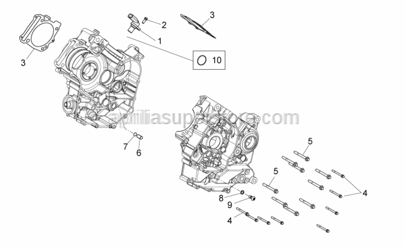 Aprilia - PACKING BETWEEN CRANKCASE AND CYLINDER