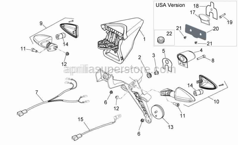 Aprilia - Special screw 5,9x19