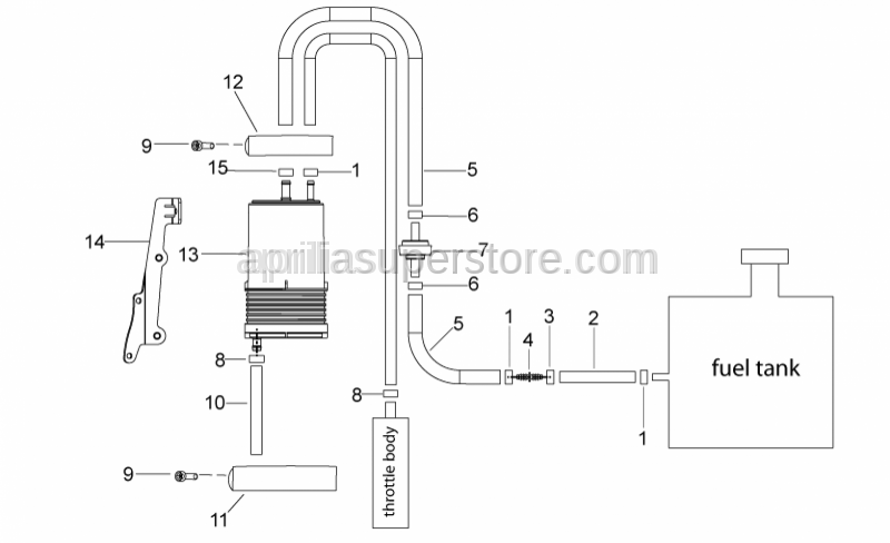 Aprilia - Carbon filter