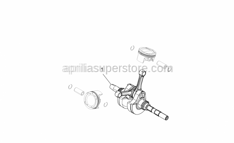 Aprilia - Crankshaft cpl. cat2