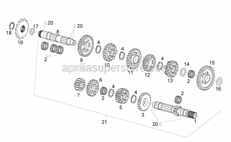Aprilia - Gear Z=24