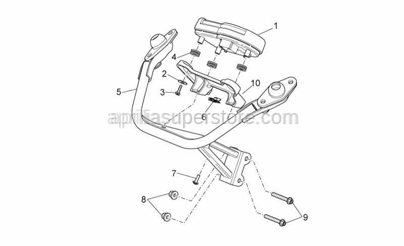 Aprilia - Self-tap screw 5x14