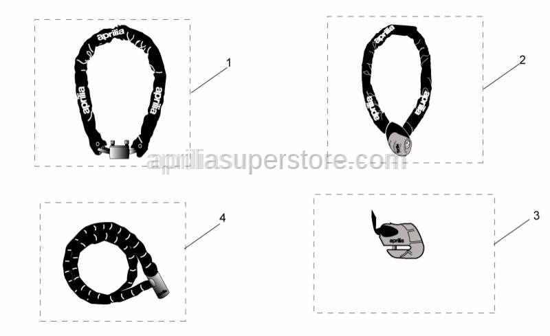 Aprilia - APRILIA IRON GUARD 10-150