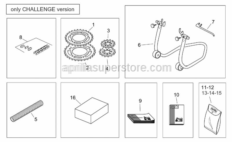 Aprilia - Chain ring Z=43