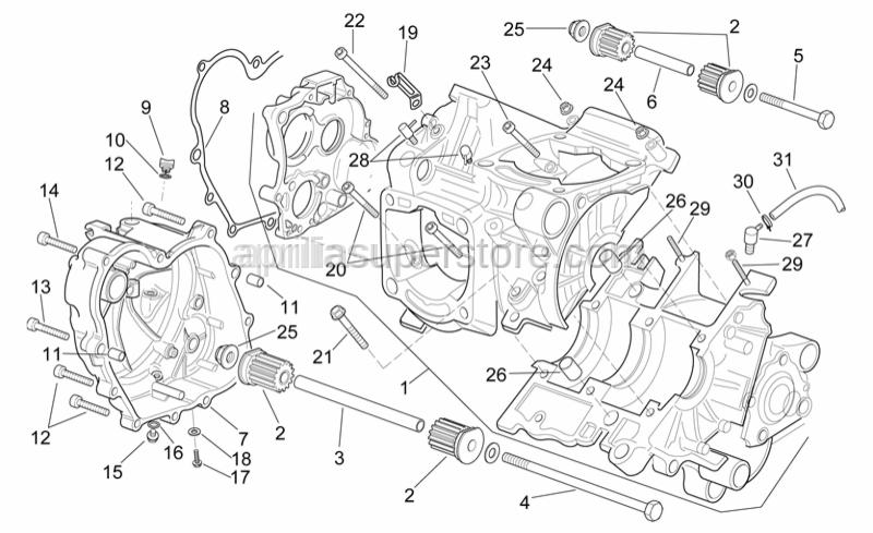 Aprilia - Hose clamp l=35