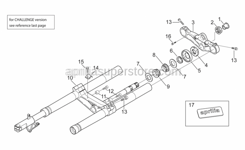 Aprilia - Tap.roller bearing