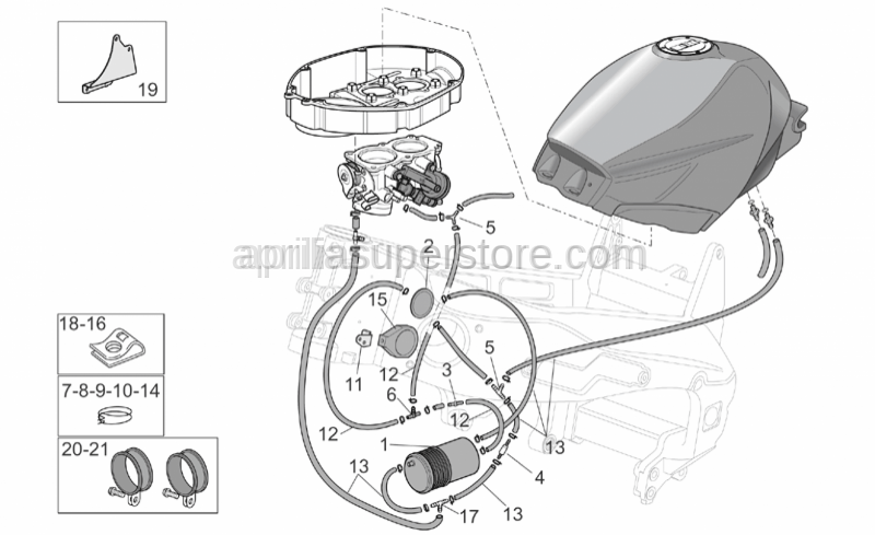 Aprilia - Purge valve