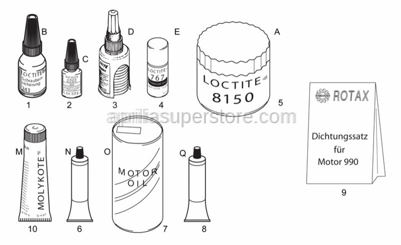 Aprilia - Loctite Anti Seize 50ml.15378
