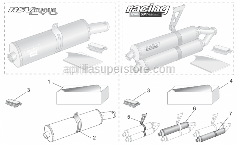 Aprilia - Soundproofing cartridge assy.
