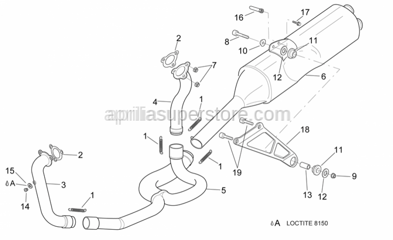 Aprilia - CO intake screw