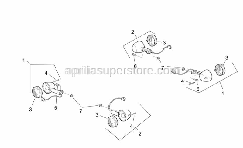 Aprilia - screw 2,9x32