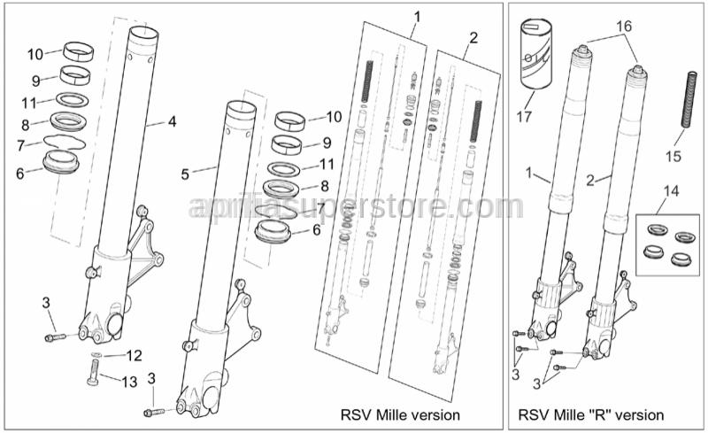 Aprilia - screw M8x40
