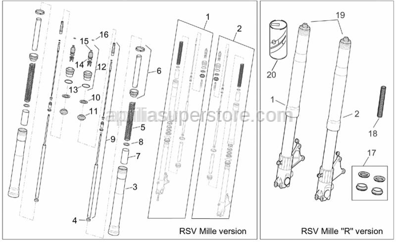 Aprilia - Front fork oil 1 lt.