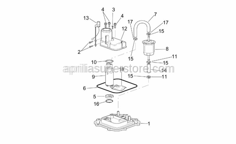 Aprilia - Self-tap screw 2,9x9,5