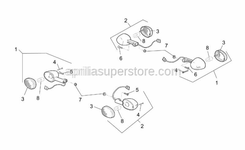 Aprilia - screw TBC 2,9x13