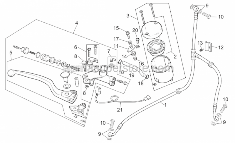 Aprilia - Gasket SUPERSEDED BY AP8113004