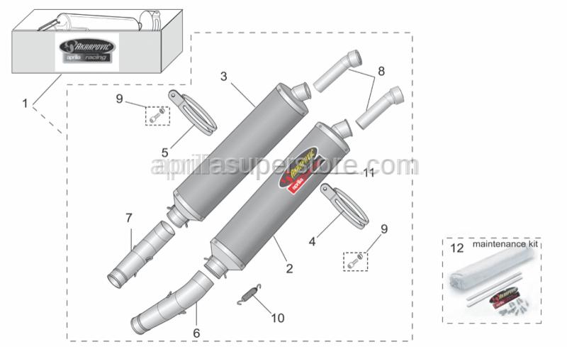 Aprilia - Fix kit