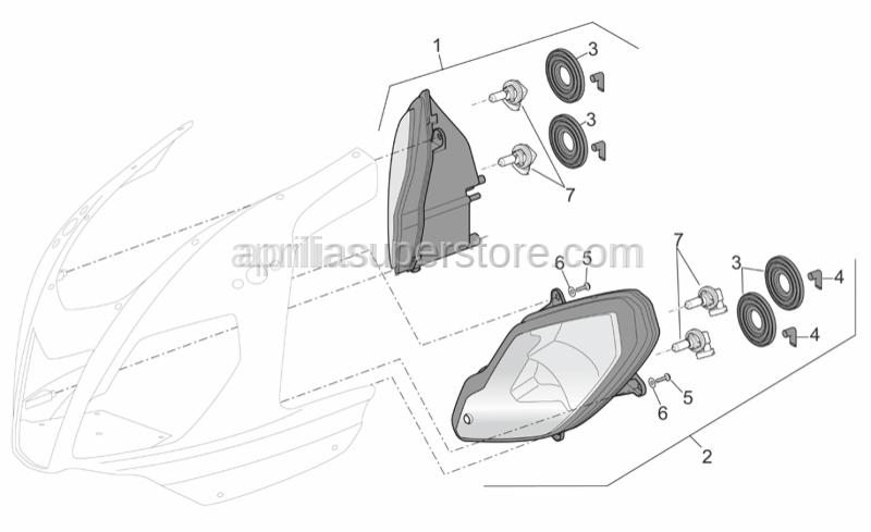 Aprilia - Ventilation plug