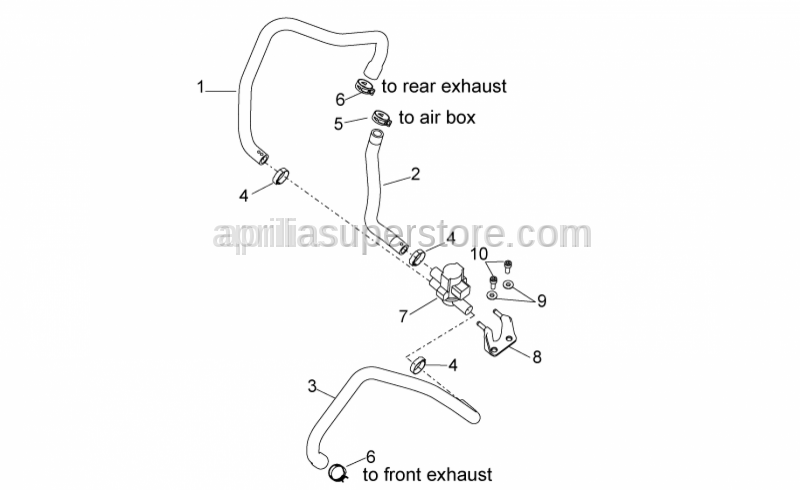 Aprilia - SAS valve