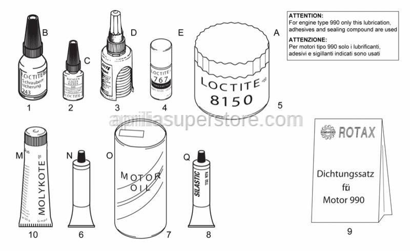 Aprilia - Loctite 8150