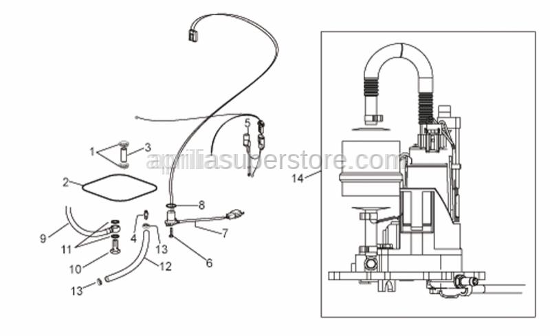 Aprilia - Fuel pump cpl.
