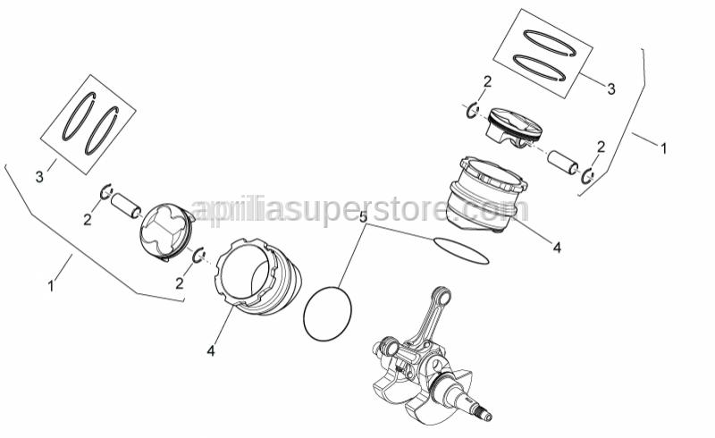 Aprilia - O-ring D82,22x2,62