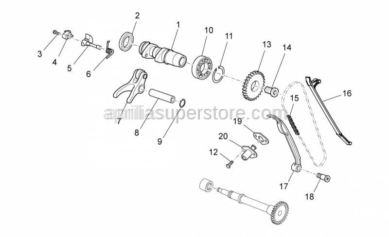 Aprilia - Ball bearing D25-D42-SP