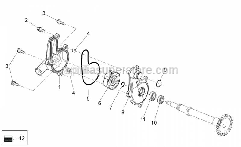 Aprilia - Gasket ring