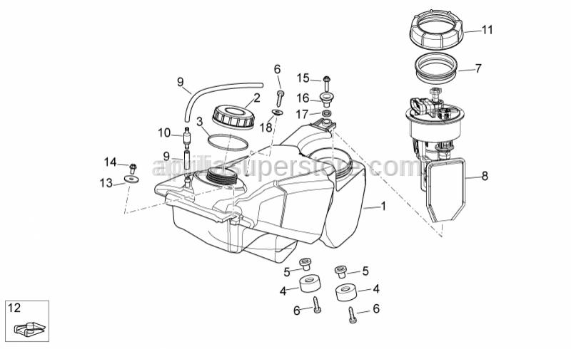 Aprilia - Breather valve