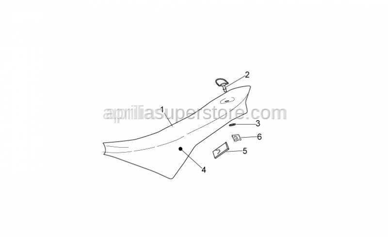 Aprilia - Saddle Protection