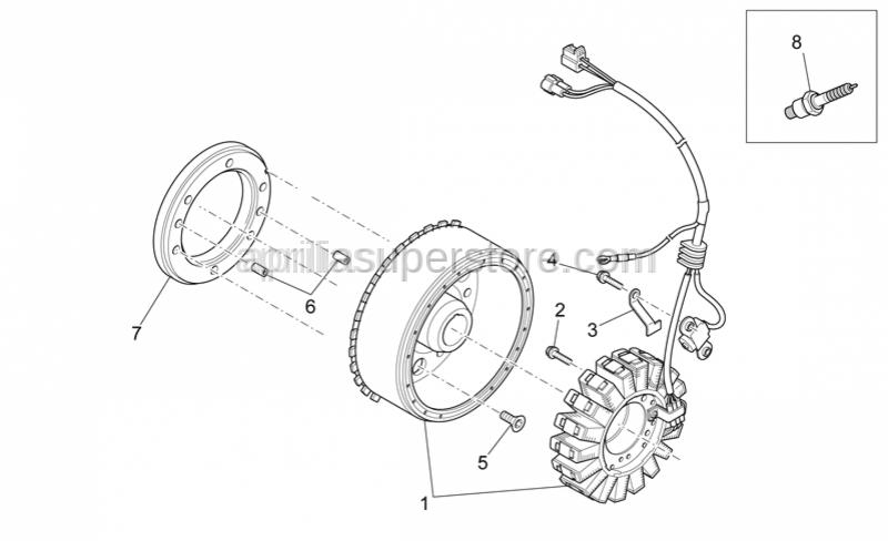 Aprilia - SCREW M6x18