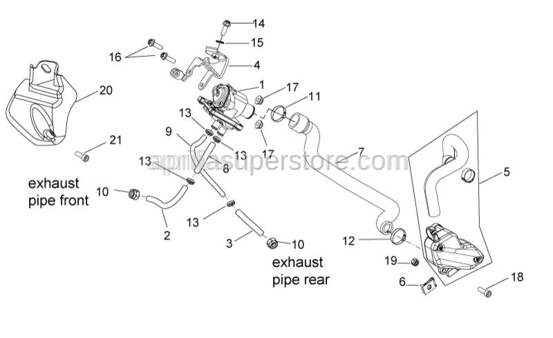 Aprilia - Air valve