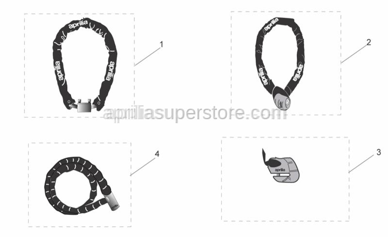 Aprilia - Iron Guard 10x150 mm