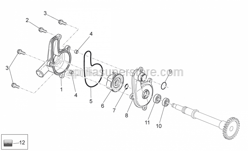 Aprilia - O-ring D18x1,8