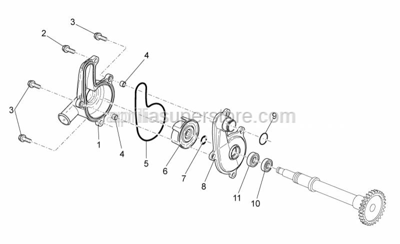 Aprilia - O-ring D88,57x2,62